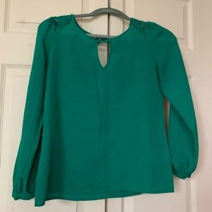 Collective concepts green blouse
